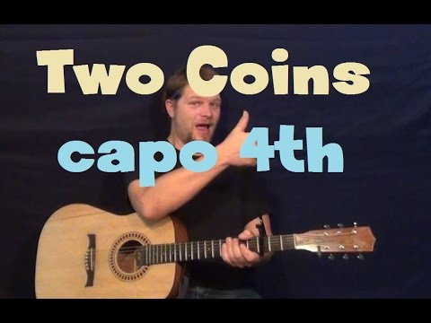 Two Coins (City and Colour) Easy Strum Guitar Lesson How to Play ...