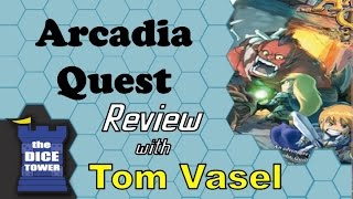 Arcadia Quest Review - with Tom Vasel