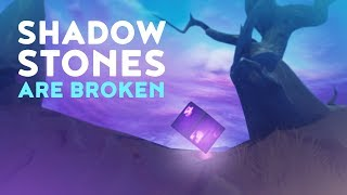 SHADOW STONES ARE BROKEN - THE STEALTH KING! (Fortnite Battle Royale - Dakotaz)