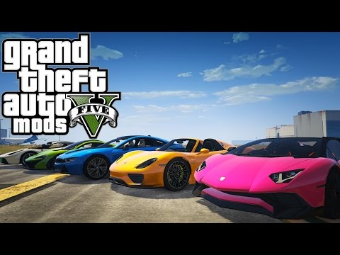 Let's Mod GTA V - Auto Mods [Car Mods]