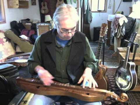 Fiddle tune: Devil Eat the Groundhog on Appalachian Dulcimer