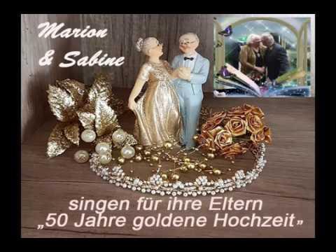 Marion Sabine 50 Jahre Goldene Hochzeit