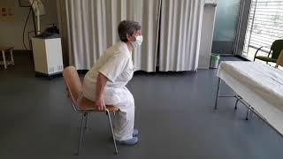 Fisioterapia y prevención de caídas en personas mayores. Equilibrio y fuerza.