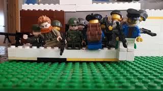 """Лего мультик Зомби Апокалипсис 3 """" бункер военных """""""