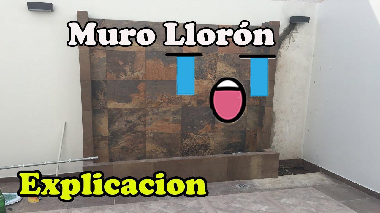 Cascadas Artificiales Muro Lloron