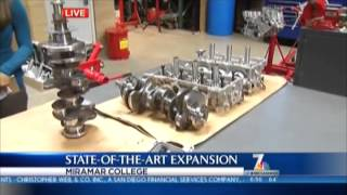 Miramar College Diesel Tech Program on NBC 7 03