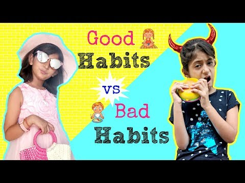 Good Habits vs Bad Habits ft. Shruti Arjun Anand  | #Sketch #Fun #MyMissAnand