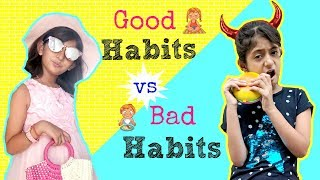 Good Habits Vs Bad Habits ShrutiArjunAnand Sketch Fun MyMissAnand