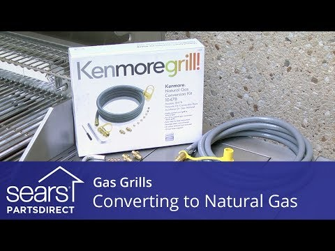 Converting A Gas Grill To Natural Gas