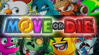 move or Die Trailer  The Friendship Ruining Game  Out Now on STEAM