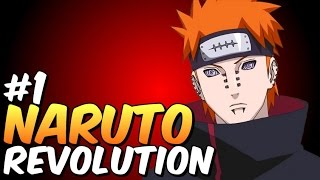 Naruto Revolution Gameplay #1 Criação da Akatsuki
