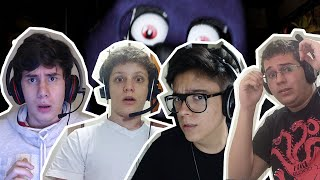 4 FACECAMS?! - Five Nights at Freddy