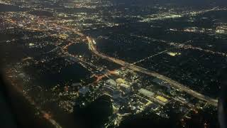 🔴 на БОРТУ самолёта 1080 HD 🔴 5.30 утра ОРЛАНДО с высоты птичьего полёта 12.06.2019