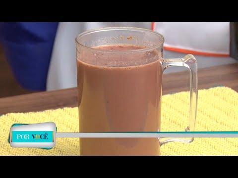 Por Você - Receita Saudável: Chocolate quente proteico 16/06/18