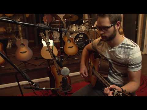 Musician and Engineer Luke Basile and the new Breedlove Concerto Acoustic Guitars