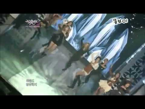 Girls' Generation (SNSD) - the boys Music Bank 211011