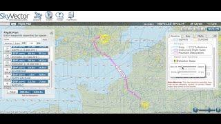 SkyVector Flight Planning Tutorial