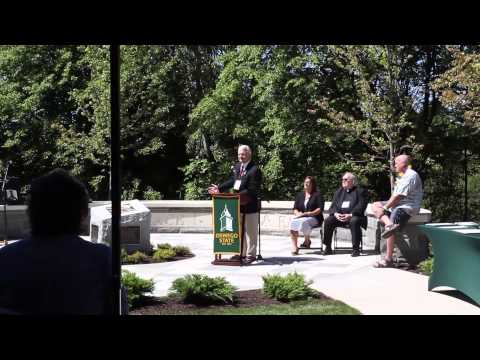 SUNY Oswego - Peace Free and Easy Dedication Ceremony