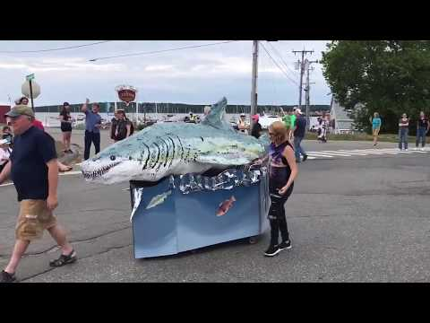 Second Annual People's Sculpture Race, August 11, 2018, Rockland, Maine