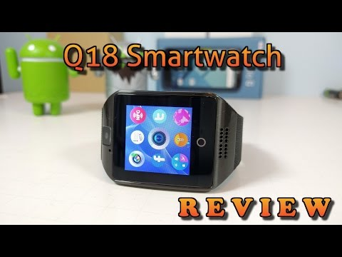 Q18 Smartwatch REVIEW
