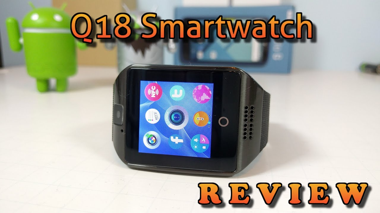 Q18 Smartwatch Review | Top Functions | LOW Price | Android | IOS | Sale