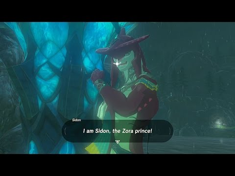 Legend of Zelda: Breath of the Wild - Prince Sidon!