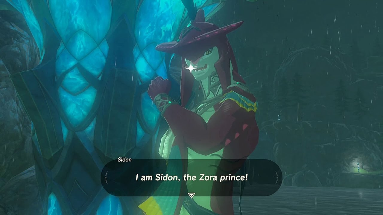 Kamina Quotes Wallpaper Legend Of Zelda Breath Of The Wild Prince Sidon Youtube