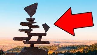 ПОЧЕМУ Каменные Скульптуры НЕ ПАДАЮТ?