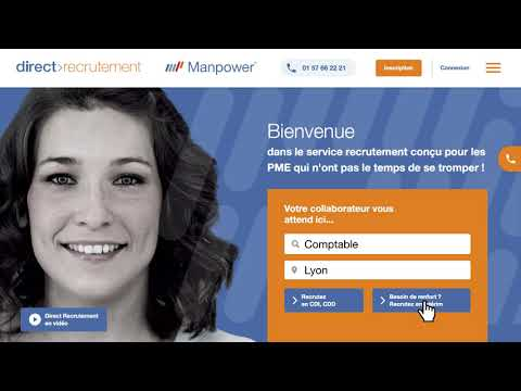 Direct Recrutement, la solution Manpower pour les PME