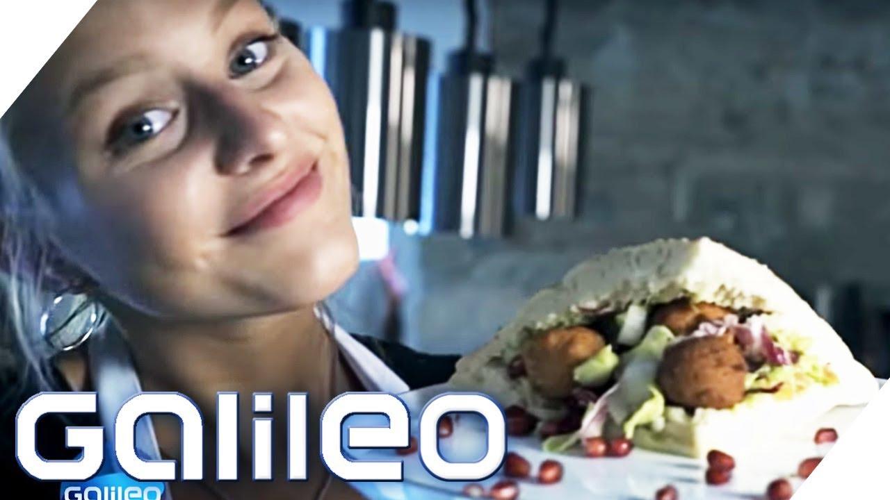 Falafel-Sandwiches selbstgemacht - Wer gewinnt den Wettbewerb? | Galileo | ProSieben