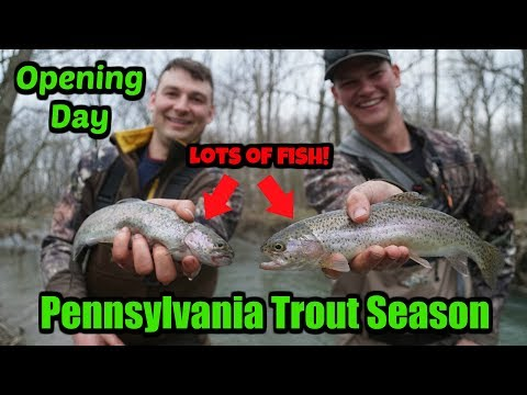 Trout Fishing On OPENING DAY! (Pennsylvania)
