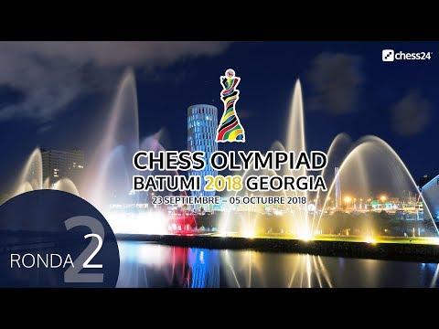 Olimpiada de ajedrez 2018 desde Batumi (2)