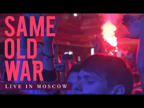 "Our Last Night - ""Same Old War"" (LIVE IN MOSCOW)"
