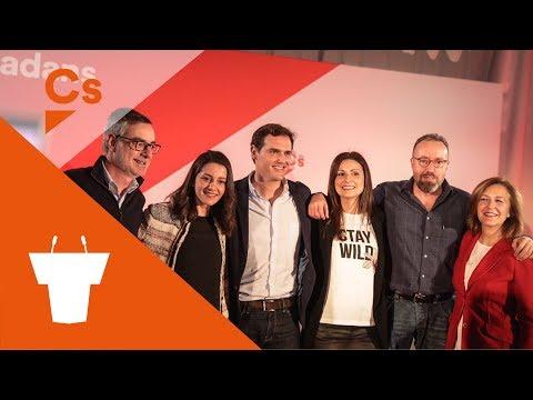 #BarcelonaNaranja. Encuentro Ciudadano Con Albert Rivera, Inés Arrimadas Y Lorena Roldán