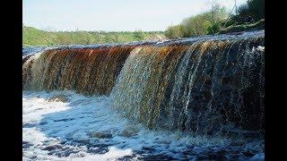Водопад Ульяновка. На Тосно речке.