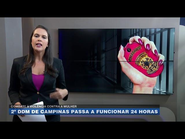 Combate à violência contra a mulher: 2º DDM de Campinas passa a funcionar 24 horas