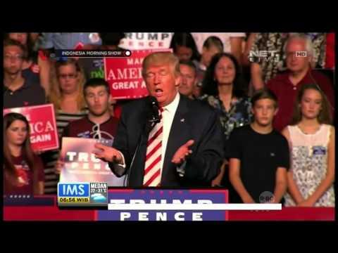 Live Report Debat Terakhir Calon Presiden Amerika Serikat