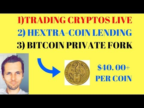 Trading Cryptos In Cryptopia - HextraCoin Lending- Bitcoin Private Fork With ZClassic