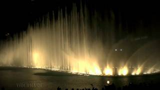 DUBAI The Dubai Fountain Celine Dion & Andrea Bocelli - The Prayer  HD1080