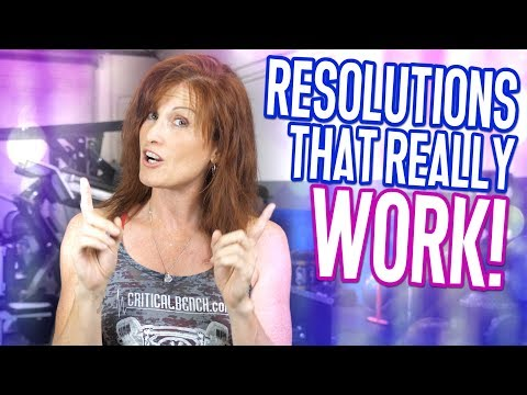 Successful New Year's Resolutions (Fitness Resolutions That WORK)