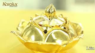 Bản sao của LƯ TRẦM ĐỐT HƯƠNG | Đỉnh đồng đốt TRẦM mạ vàng 24K mang thương hiệu Karalux