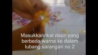 Cara Membuat Bros Akrilik Bunga Matahari