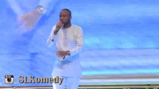 Comedian SLK jokes about Big Brother at Bovi Man On Fire 2017