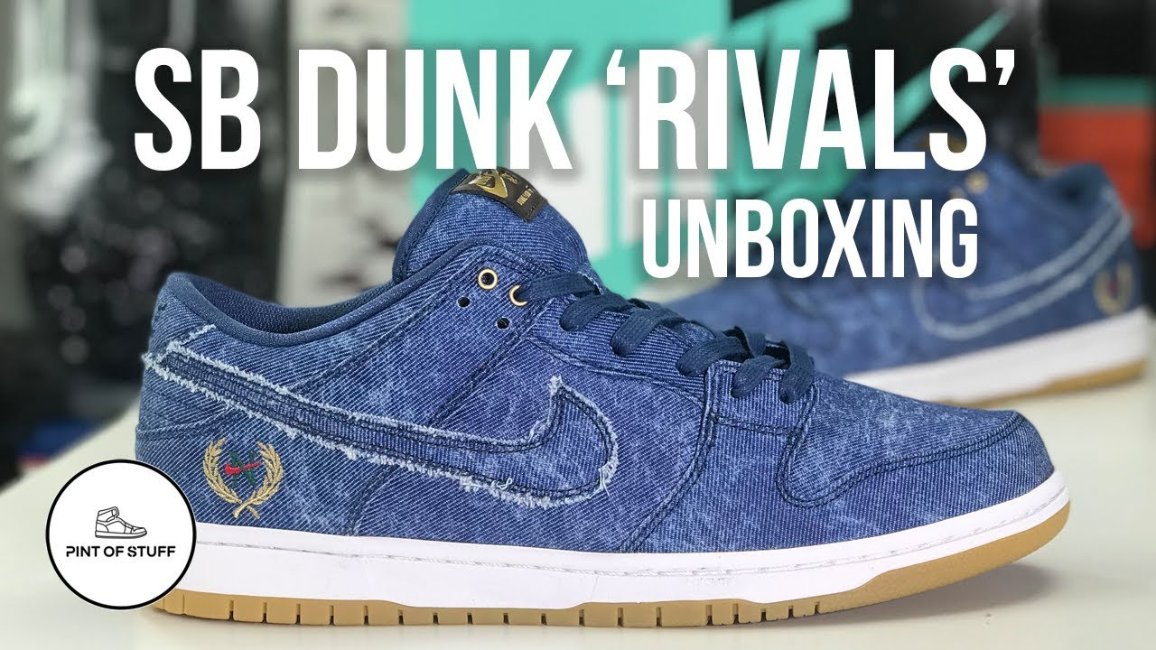 Nike SB Dunk Low Rivals Pack 'East