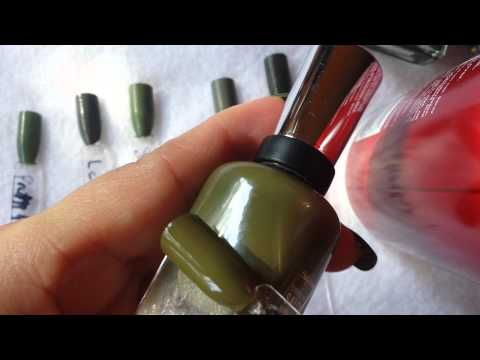 My Olive Green Polish Collection Part 1 - Creams