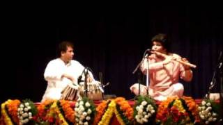 Pandit Rakesh Chaurasia (Bansuri) and Satyajit Talwalkar (Tabla)
