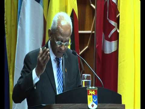 Public Lecture by Mr. lalith Weeratunga