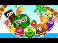 Kids Learn Numbers With Funny Food 3! Fun Play Math kids Number Games For Toddlers And Preschool