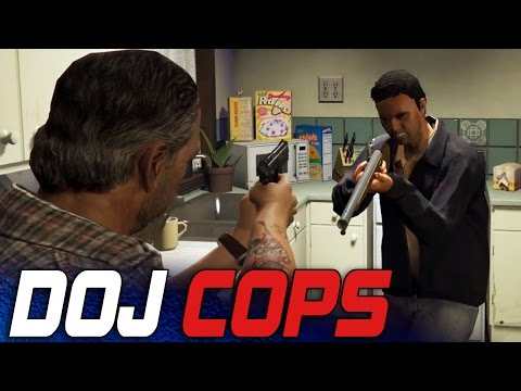 Dept. of Justice Cops #14 - Home Invasion! (Criminal)
