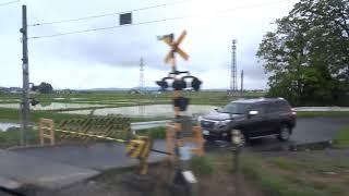 【東北本線キハ110系車窓】快速湯けむり号 松島→小牛田